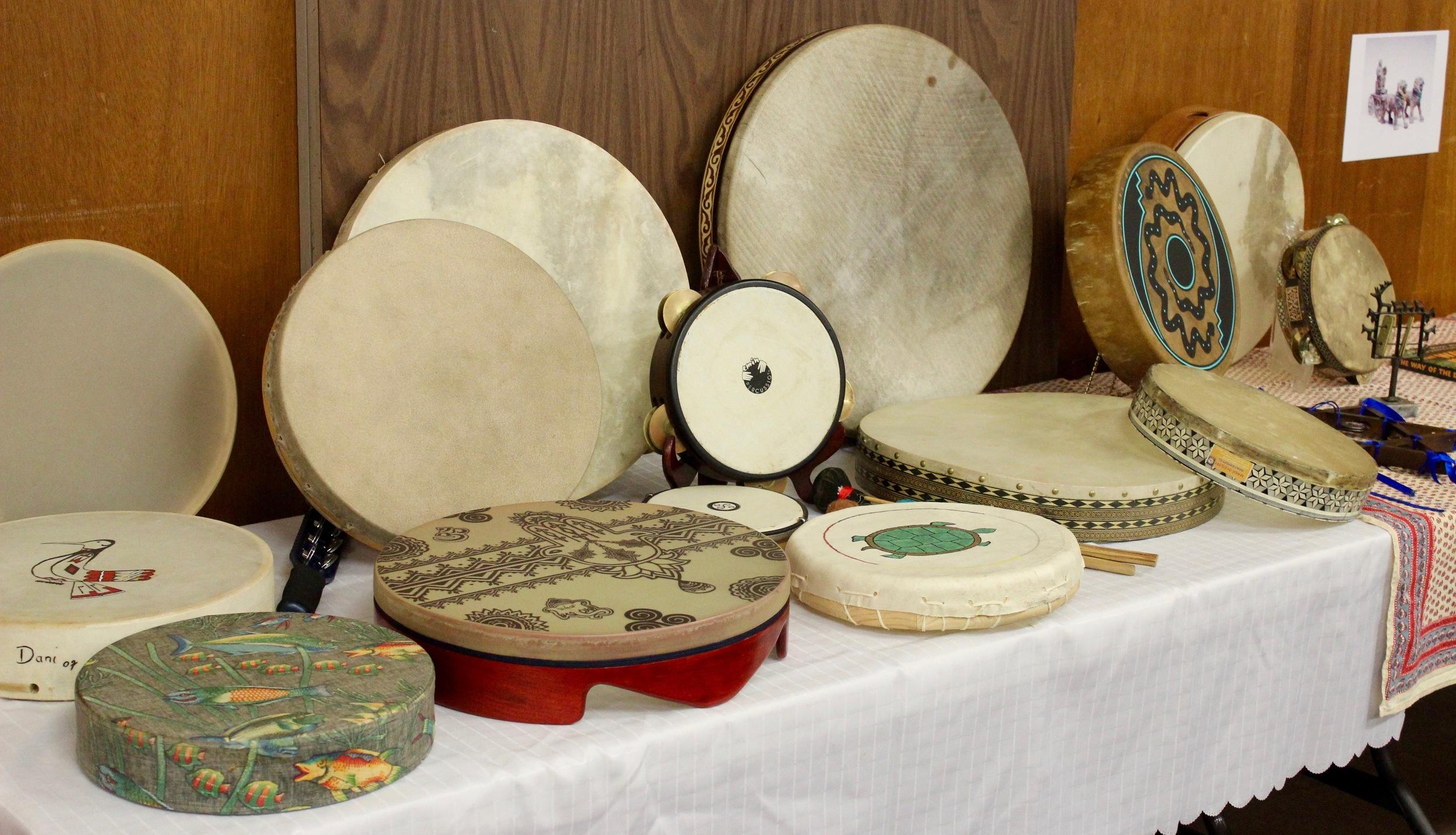Judith's Drums Display