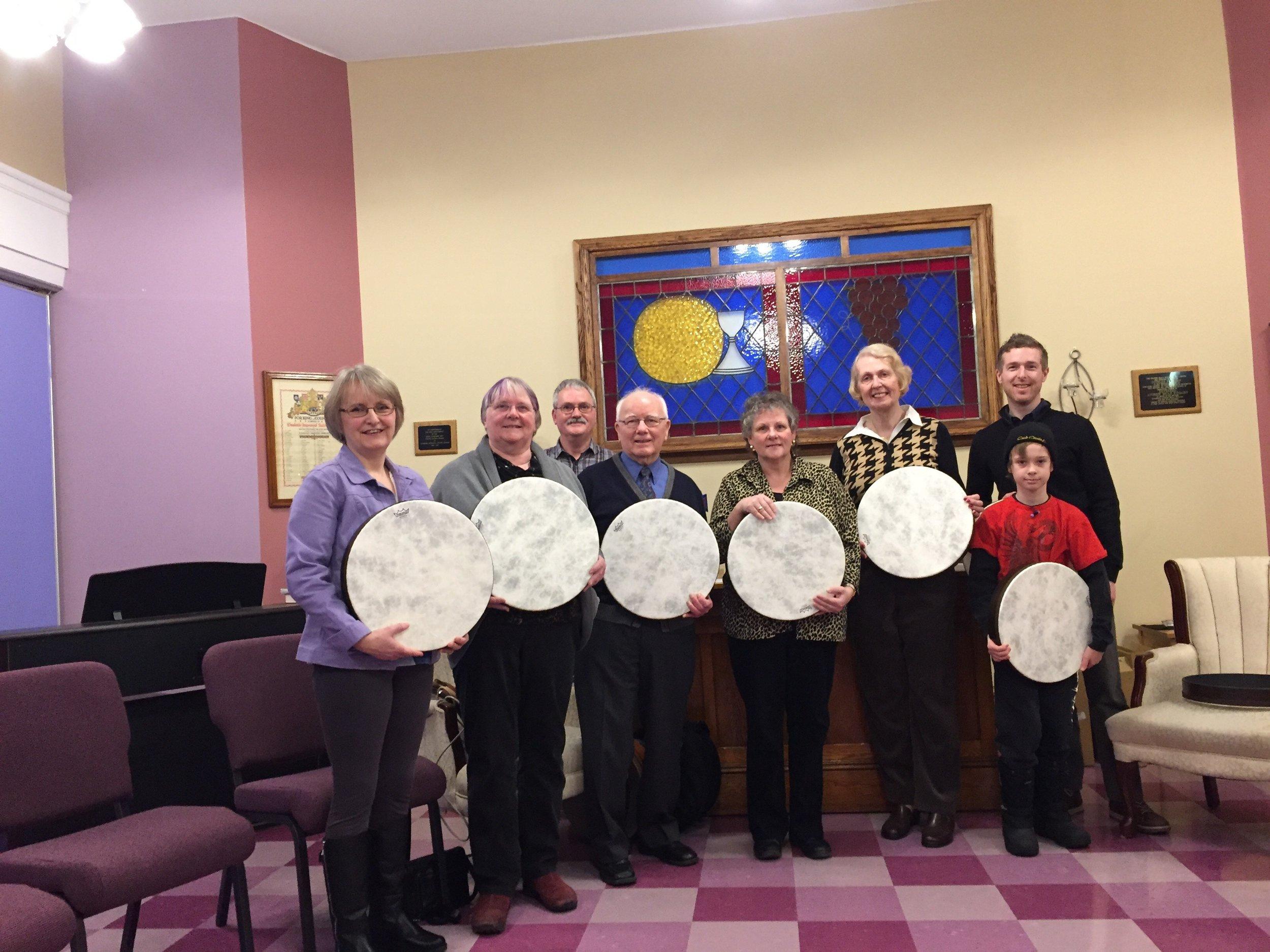 Cole Harbour - Woodside Biblical Drummers!