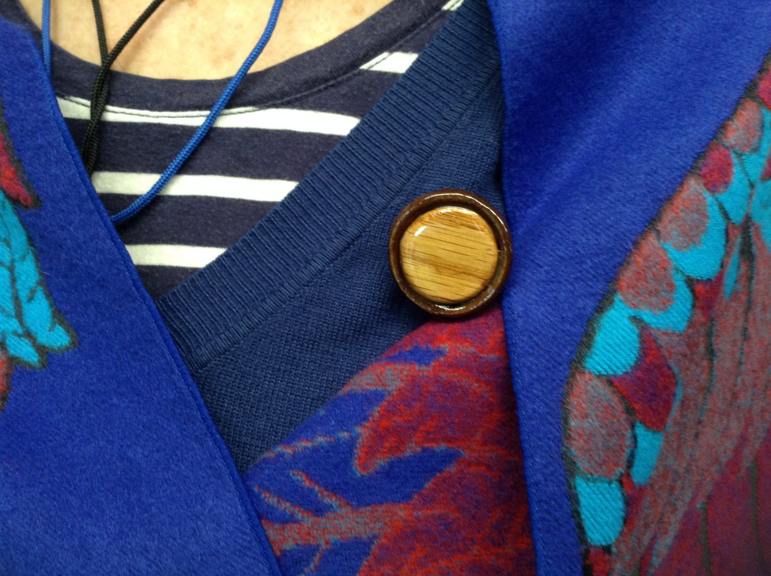 Handmade tar pins
