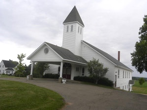 York-Covehead United Church on Prince Edward Island,  Canada
