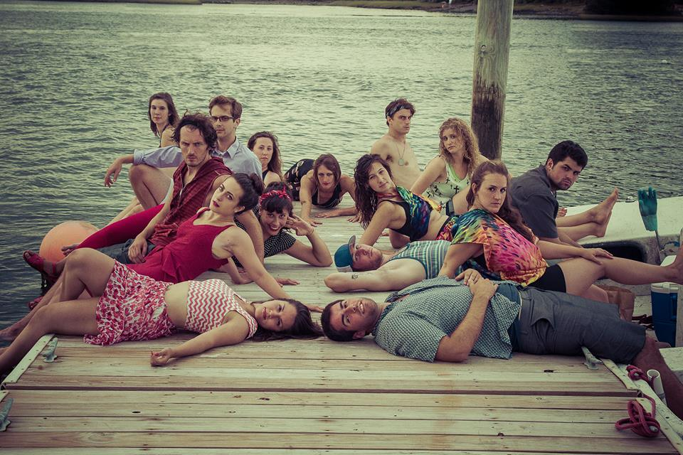 Promo photo: the full cast of  Romeo + Juliet  . Photo by Bushor Photography.
