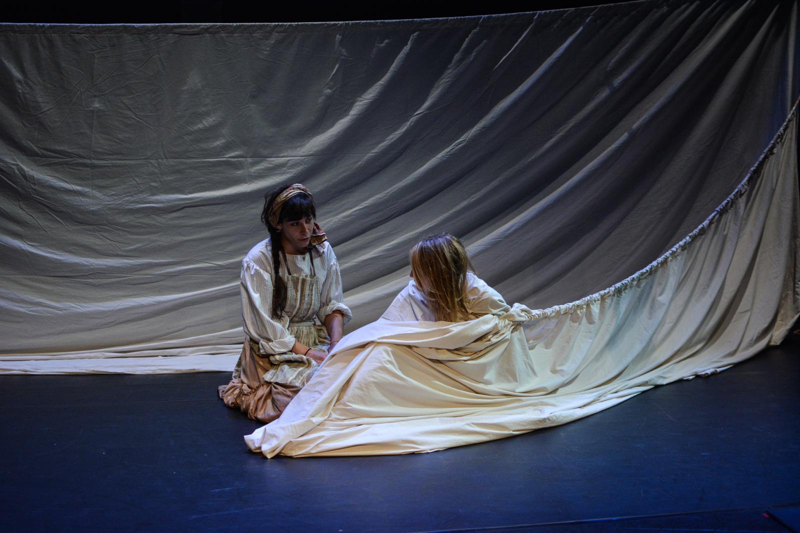 Kristina as Euphrasie with Alex Spieth as Senza in Marvellous . Photo by Kelley Van Dilla.