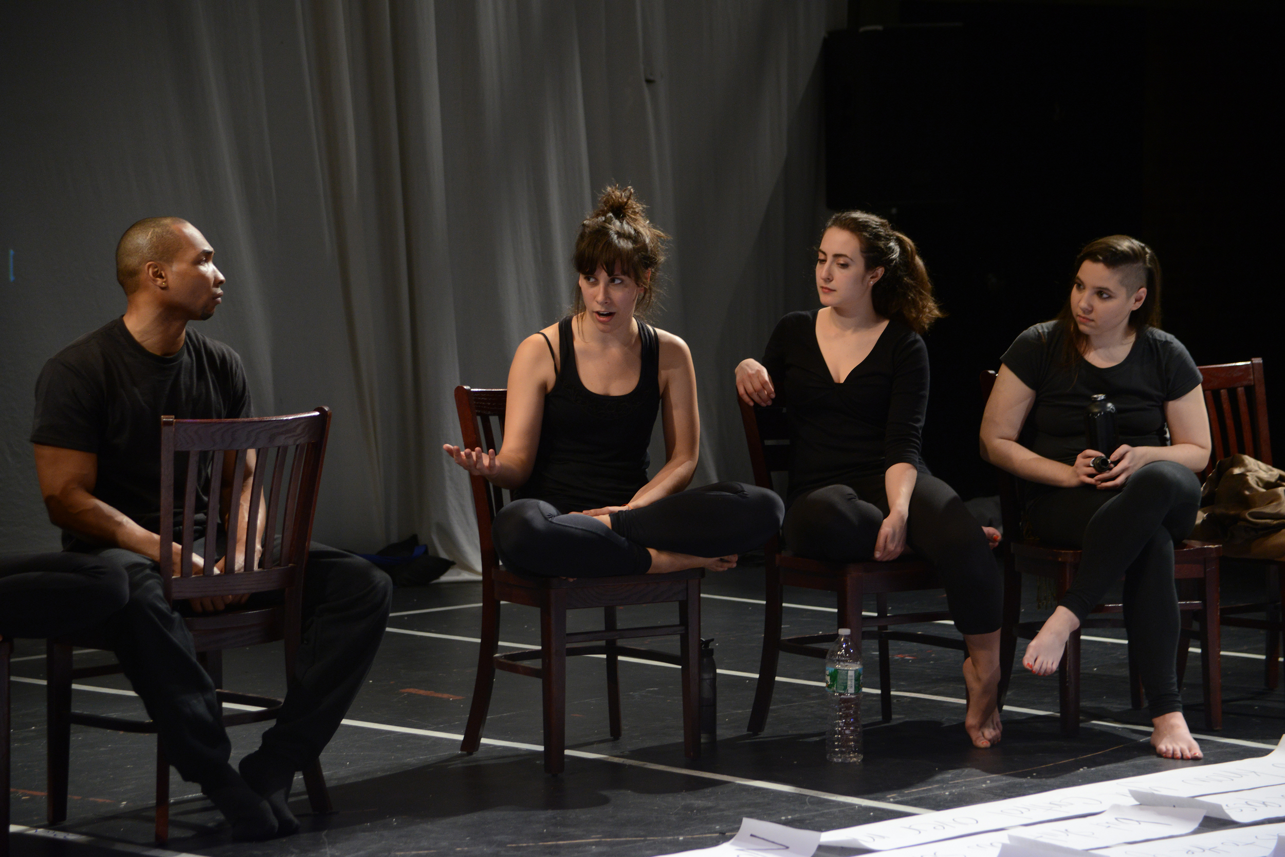Talkback after The Reuptake Project - October 2014. Photo by Allison Stock.