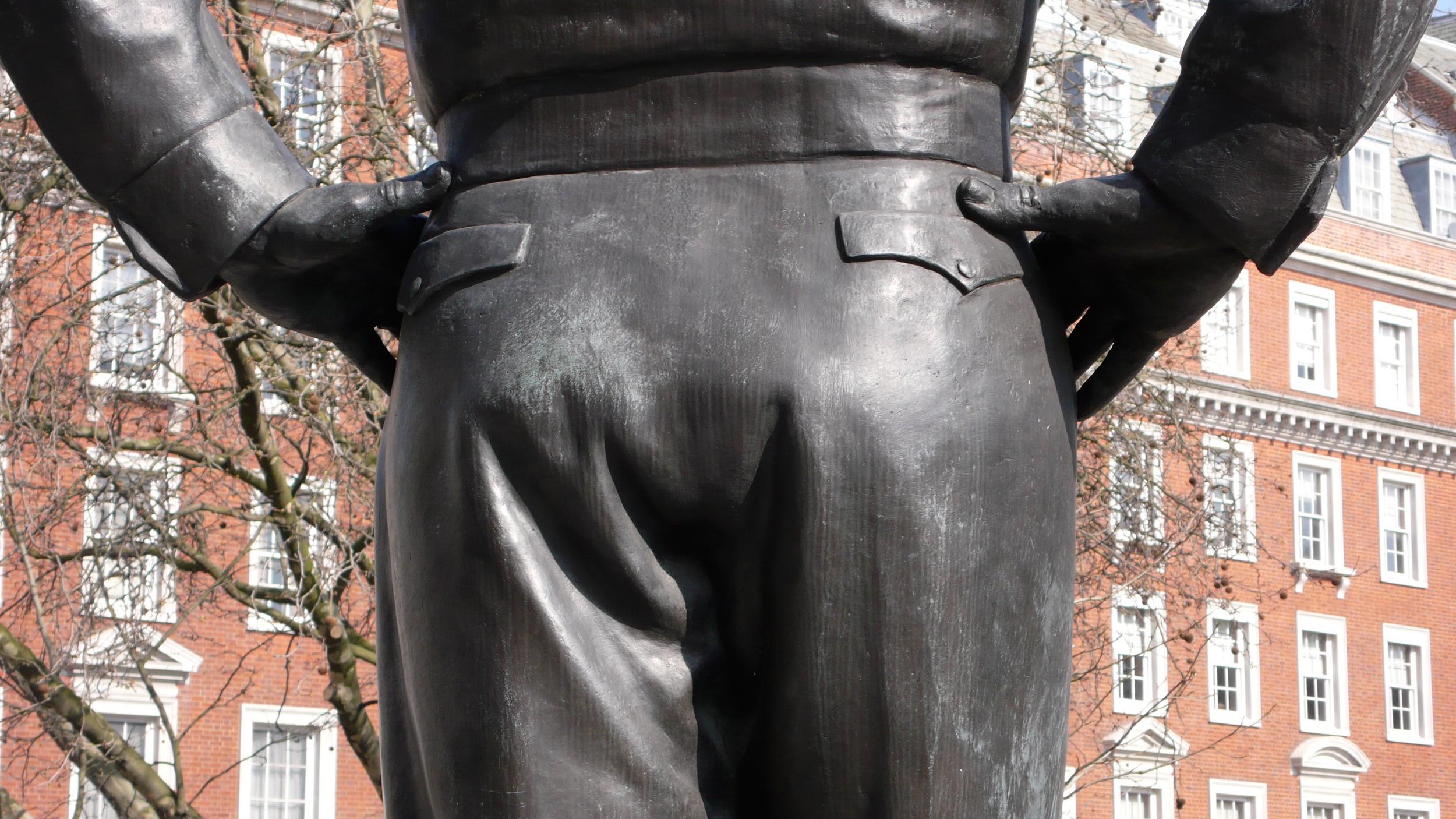 London (Dwight Eisenhower's Butt)