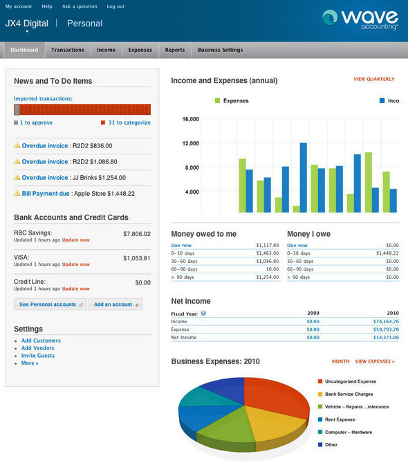 Wave Free Online Accounting Software Dashboard.jpg
