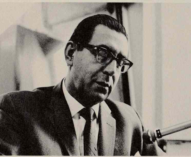 WOR newscaster Peter Roberts, circa 1966.