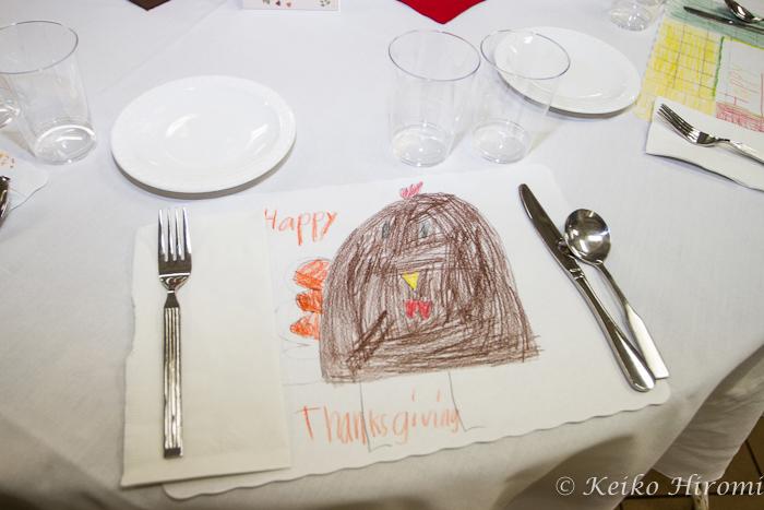 Thanksgiving day dinner at Pine Street Inn.