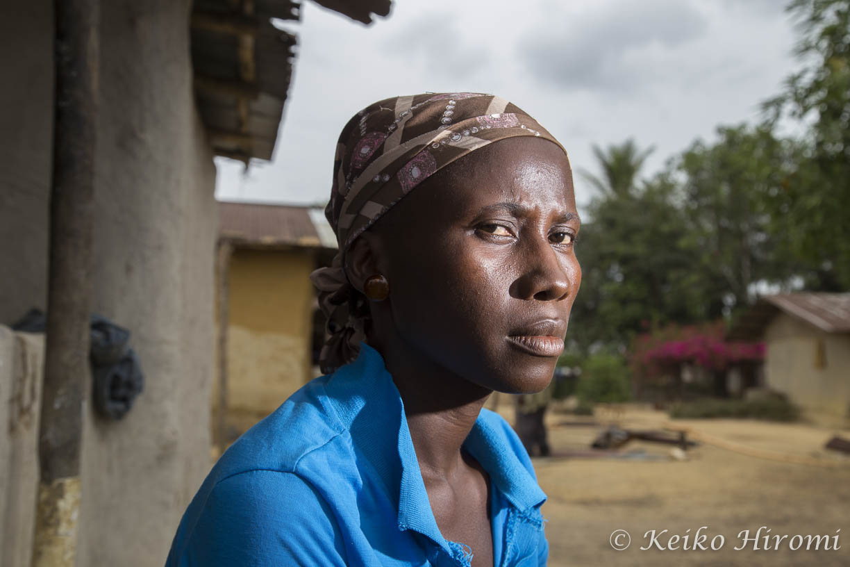 Ebola Survivor Mary Kollie