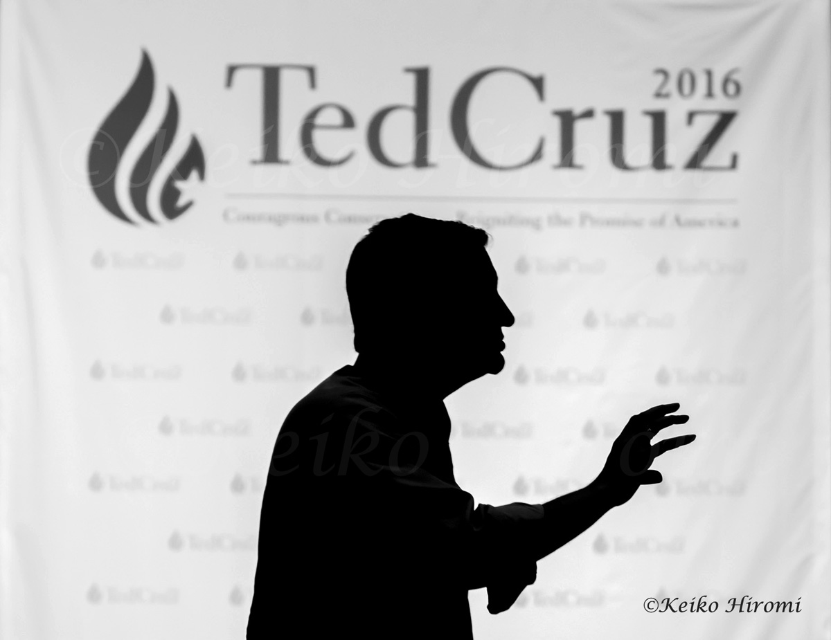 Senator Ted Cruz (R-TX), Republican Presidential Candidate, speaking at the First Assembly God Church in Auburn, NH on April 18. 2015.