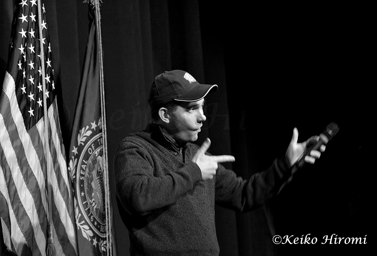 March 14, 2015: Concord High School, Concord NH USA: Wisconsin Governor Scott Walker visits a grassroots training and rally event at Concord High School in Concord, NH on March 14, 2015.