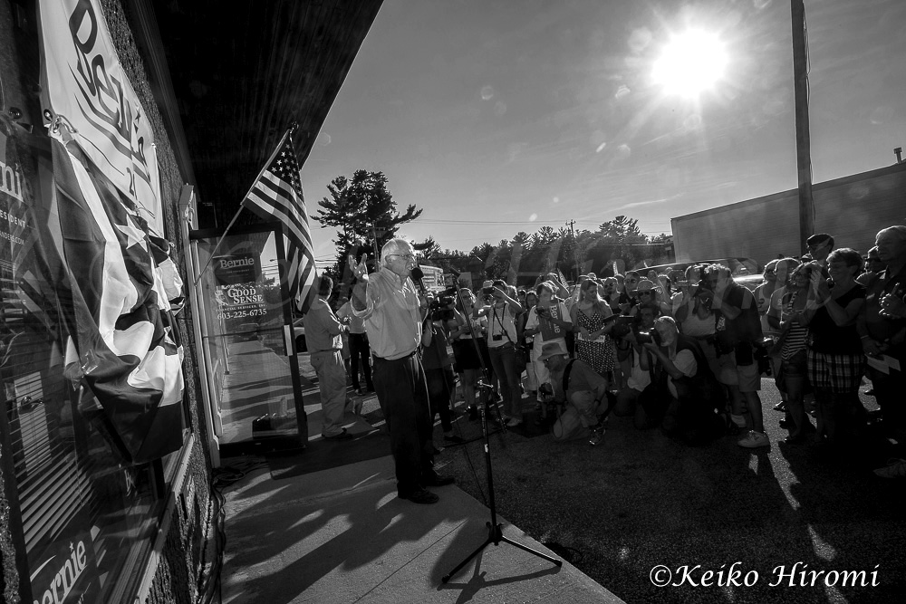 September 7, 2015, Concord, NH, USA: Democratic Presidential candidate Bernie Sanders (I-VT) campaigning at his NH campaign headquarter opening in Concord, NH.