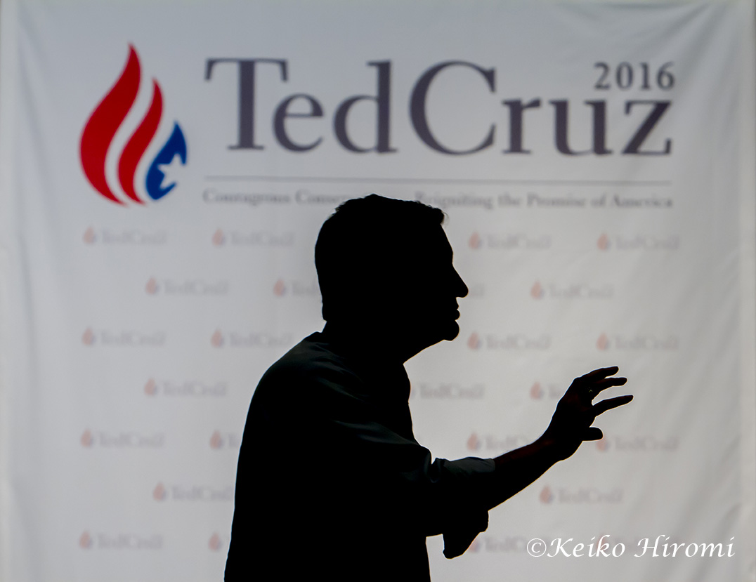April 18, 2015, Auburn NH, USA:  Senator Ted Cruz (R-TX), Republican Presidential Candidate, campaigning with his wife Heidi at the First Assembly God Church in Auburn NH.