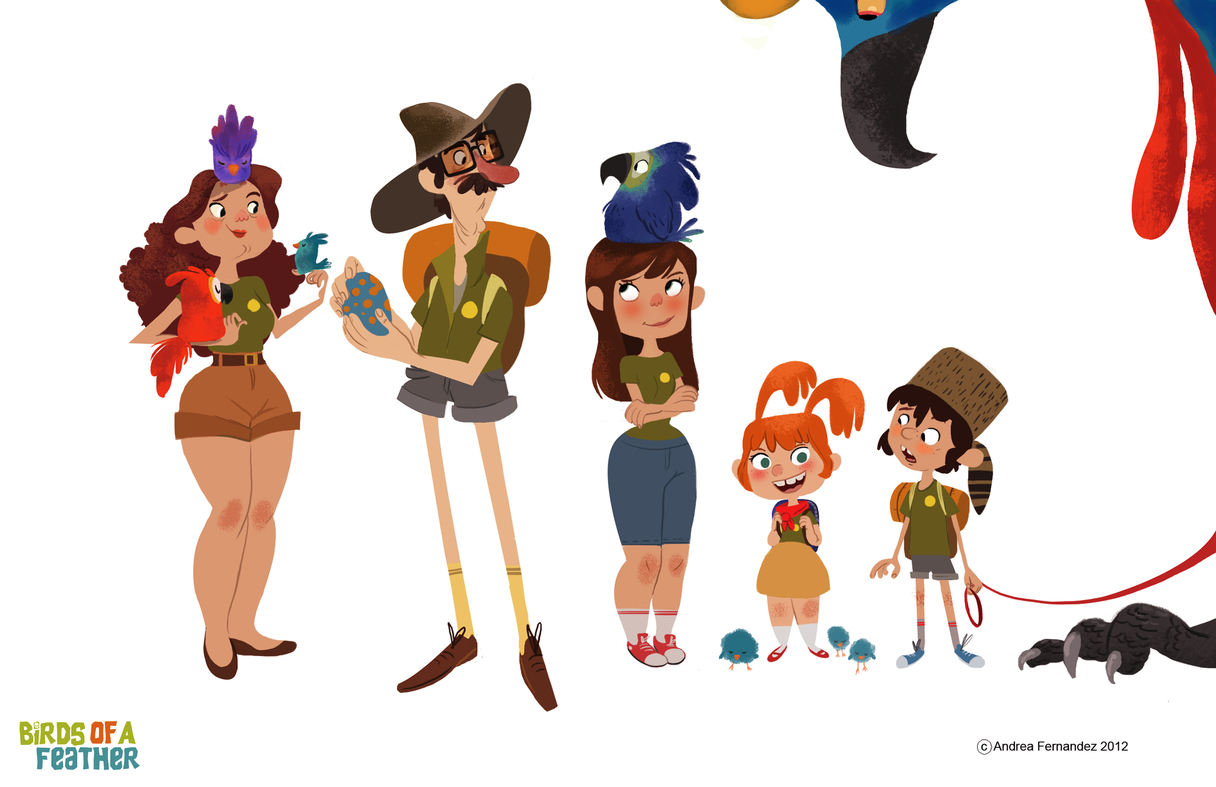 Character Design and Line Up