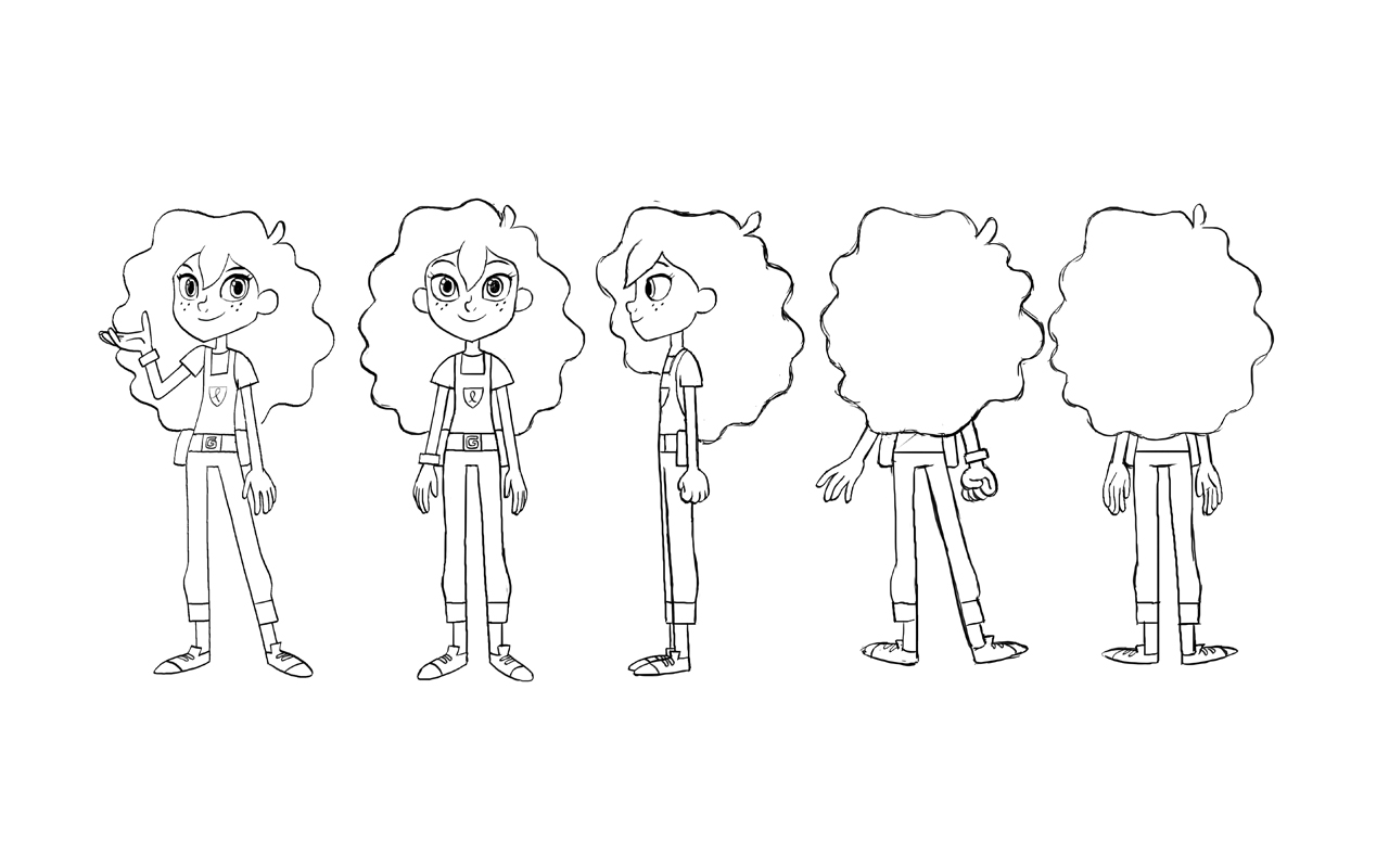 Goldie Blox Turnaround Art Direction