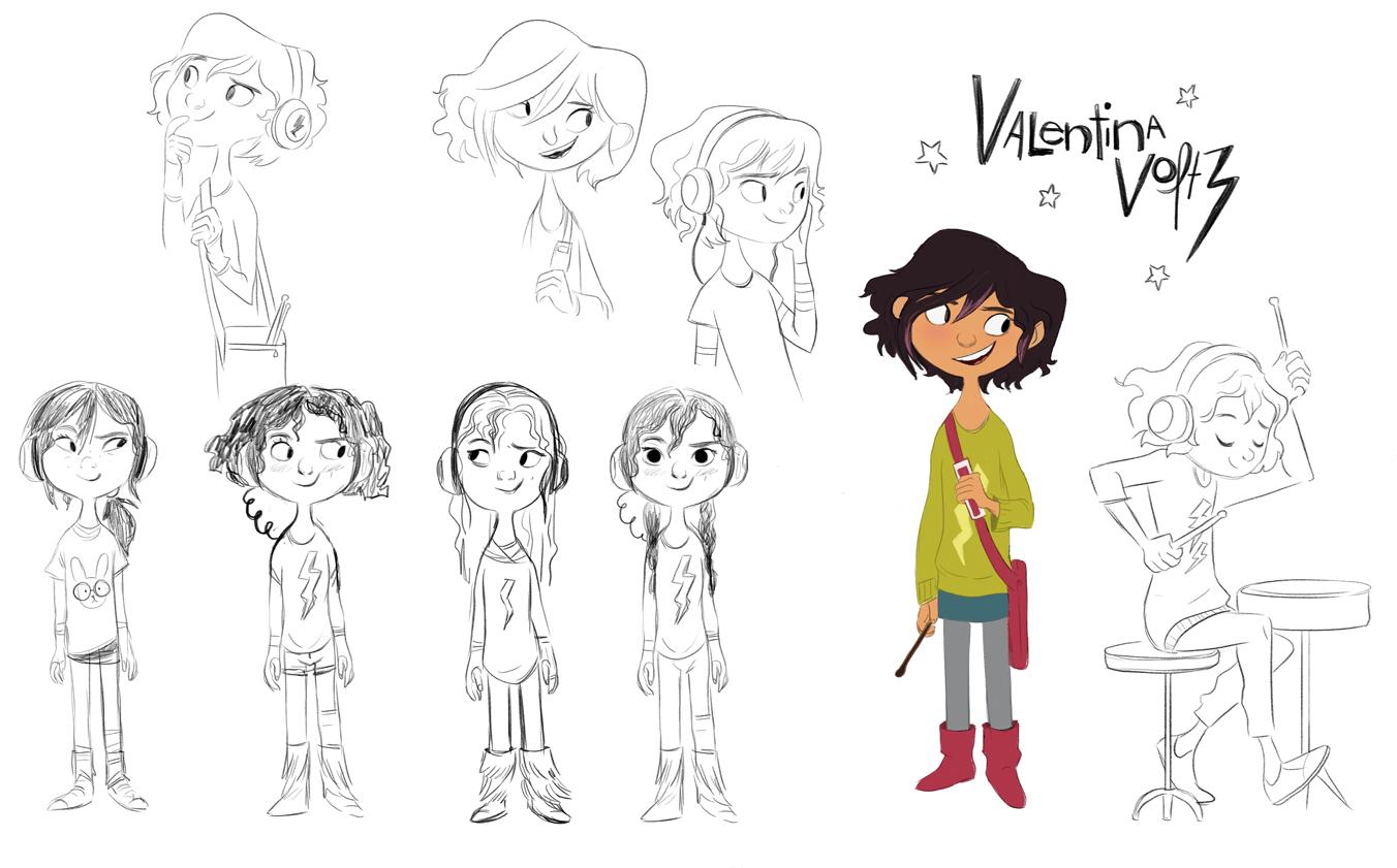 Valentina Character Design- Goldie Blox