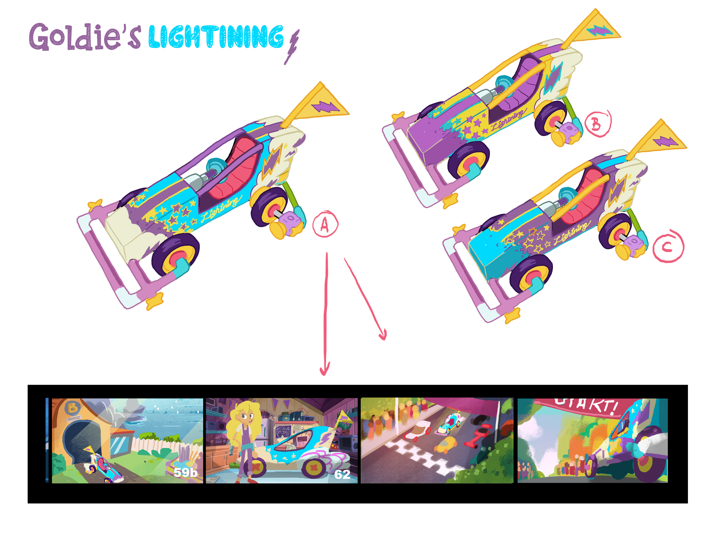 Goldie Blox - Prop Art Direction and Color Design