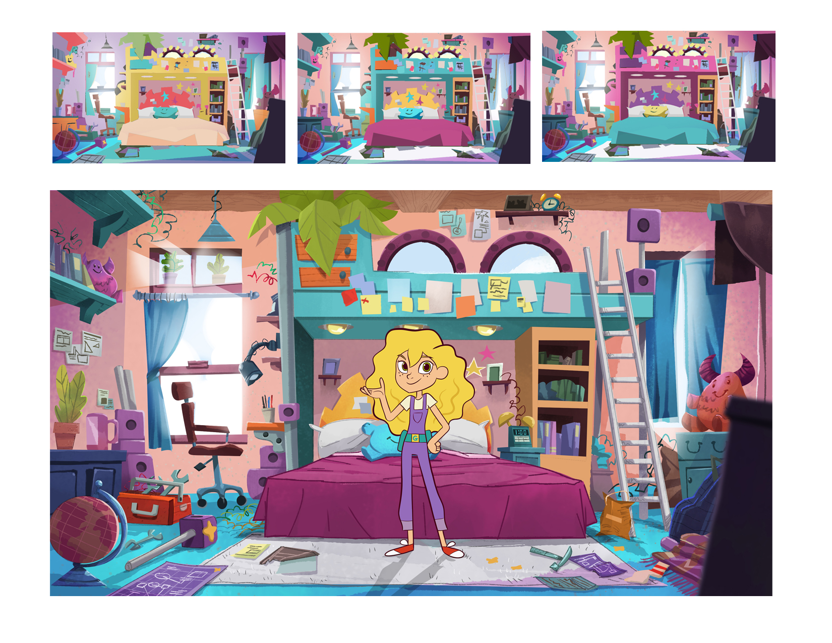 Goldie's Room Color and Art Direction