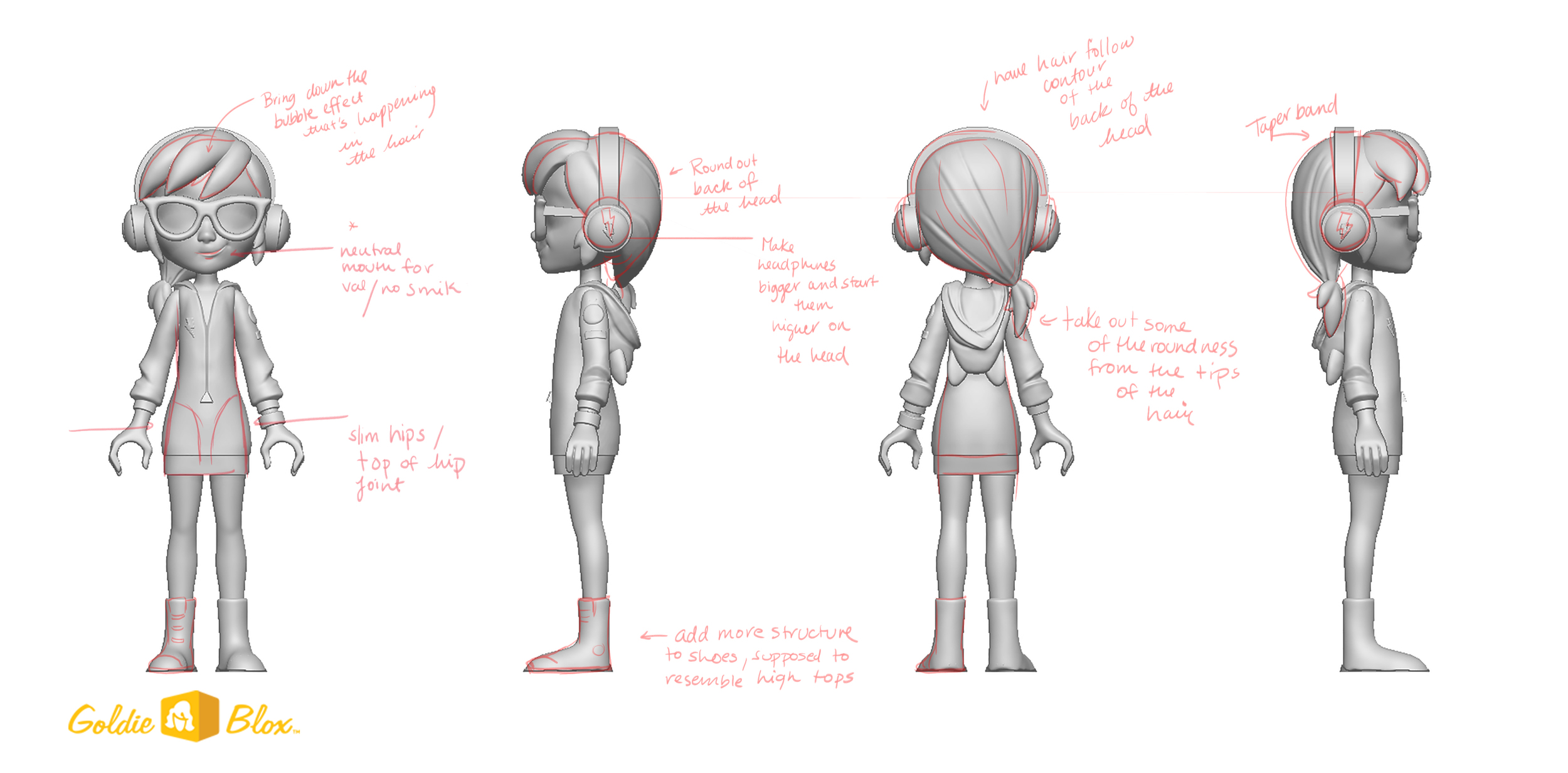 Mini Figure Design and Art Direction