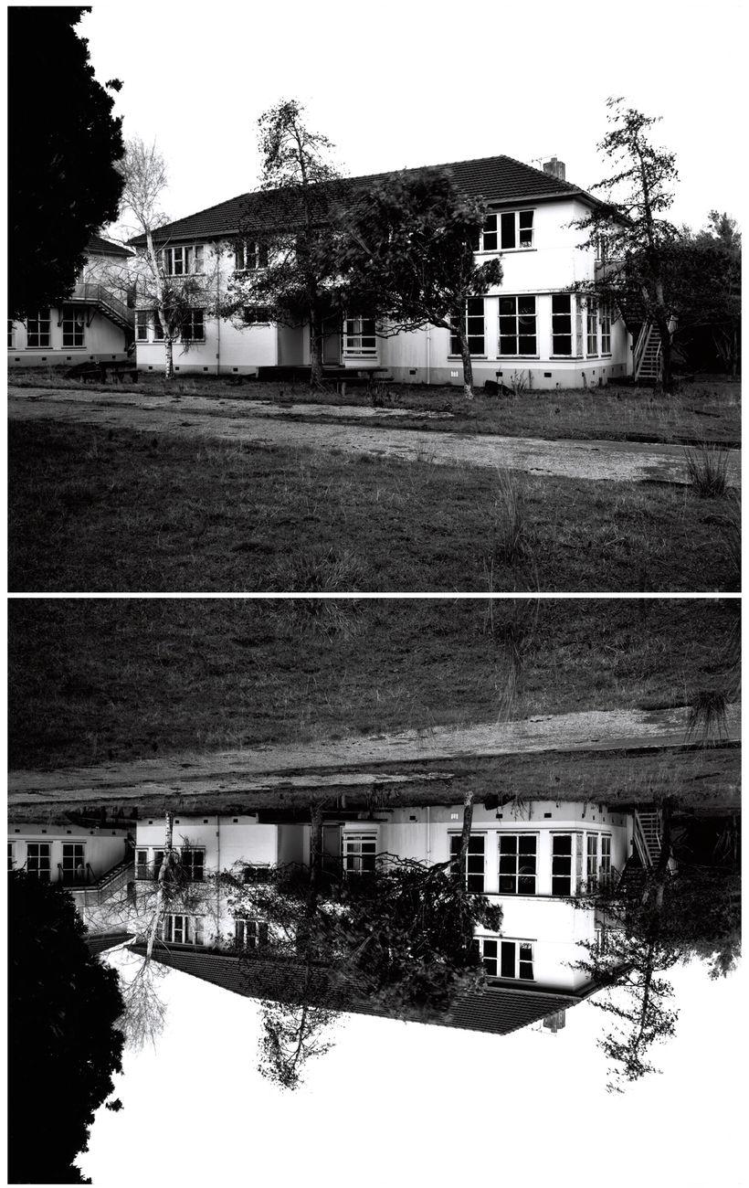 Villa #10, formerly Lake Alice Hospital, Wanganui,  2004 Diptych, C type prints, 720 x 900 mm each.