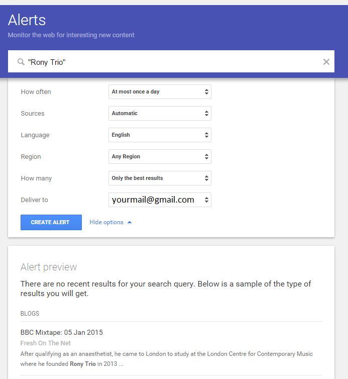 google-alert-music-marketing