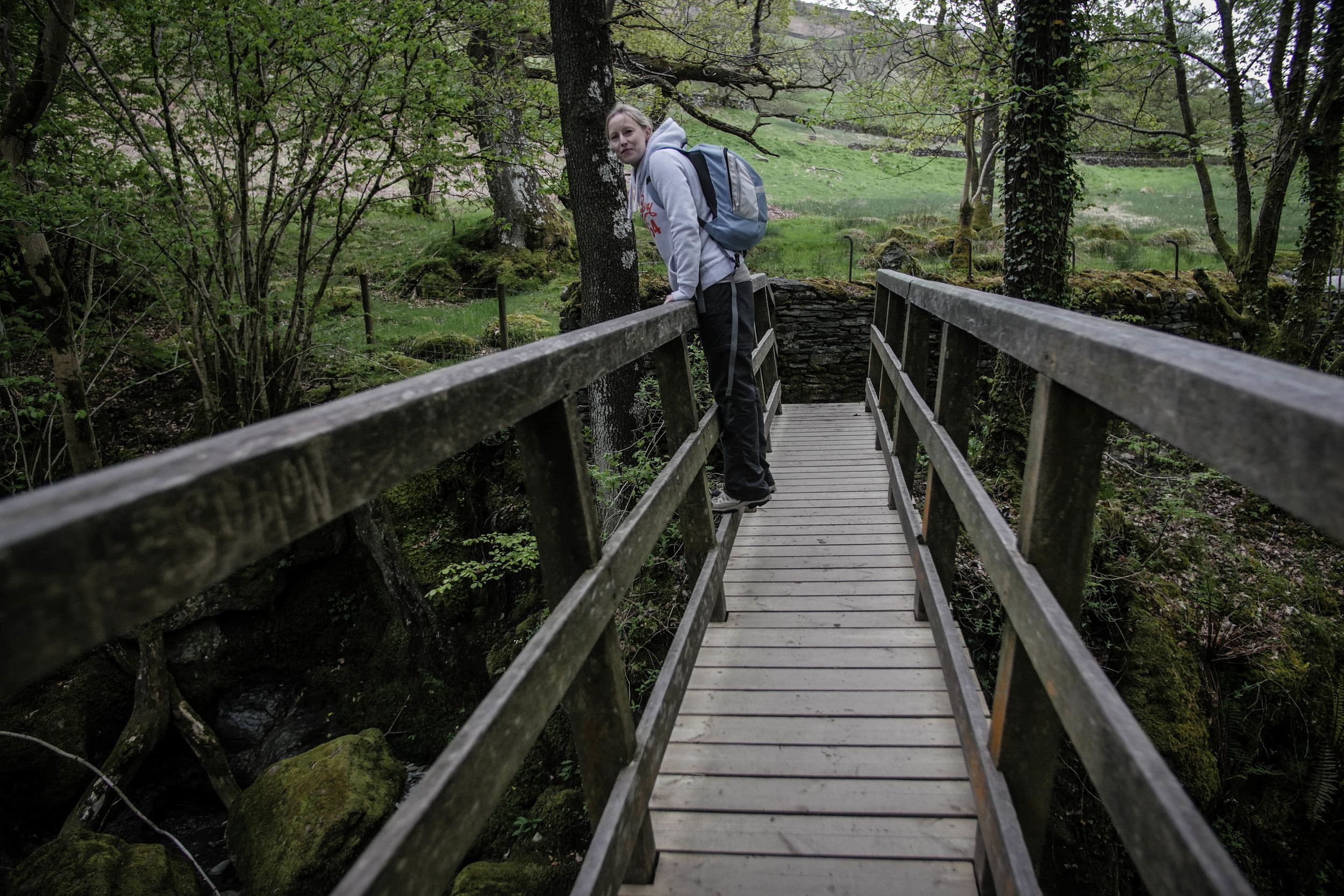 wooden-bridge-ambleside-waterfall