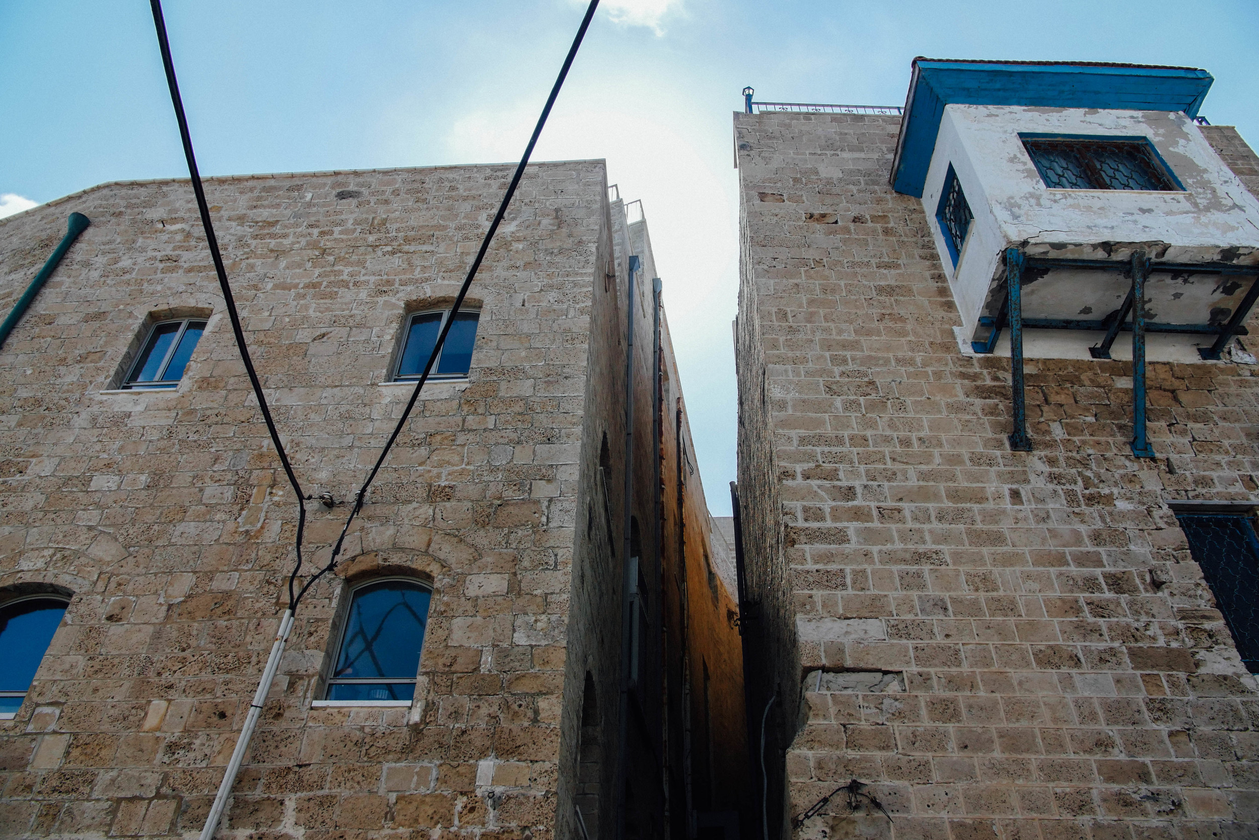 Buildings of the old city of Jaffa