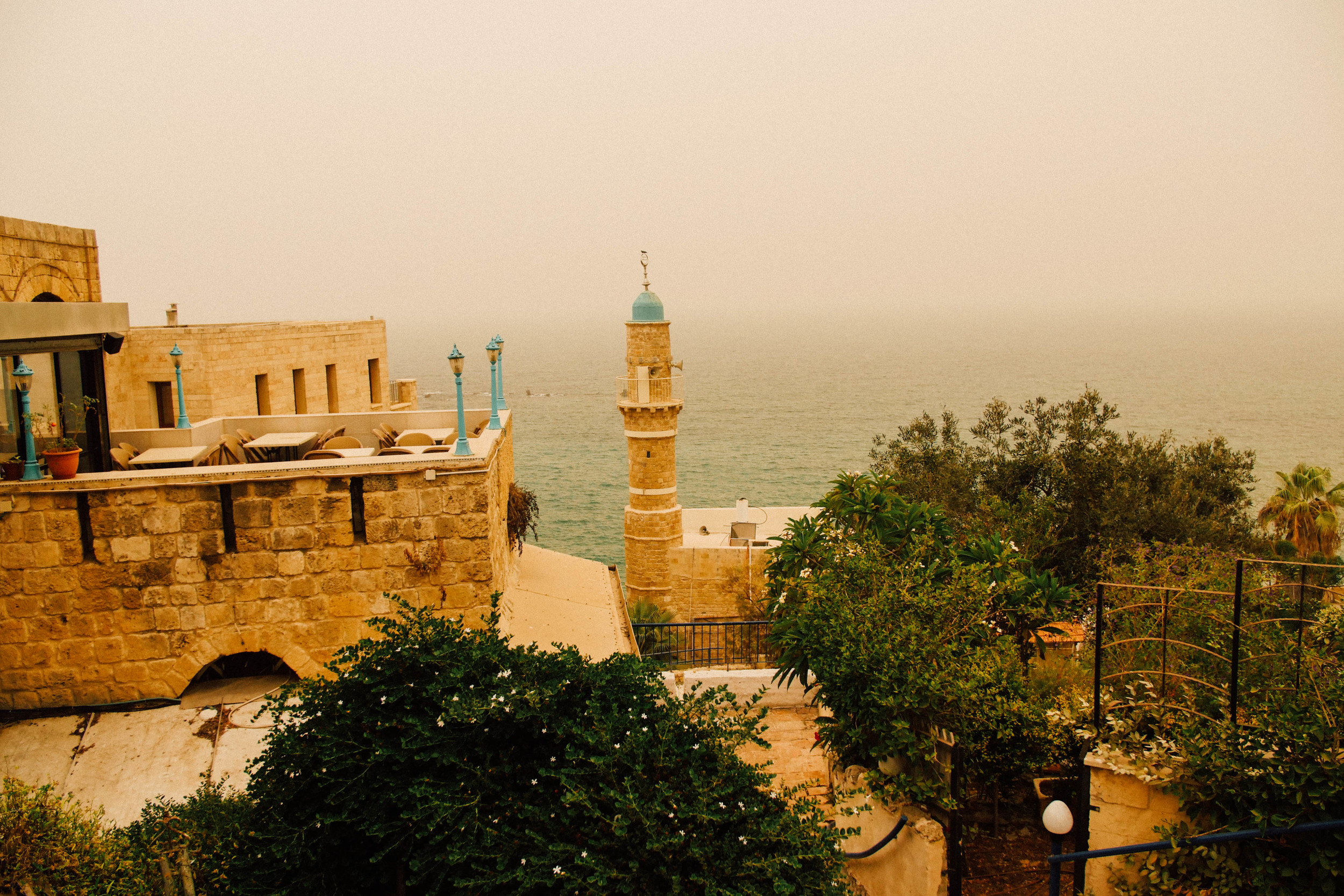 View of a Jaffa mosque