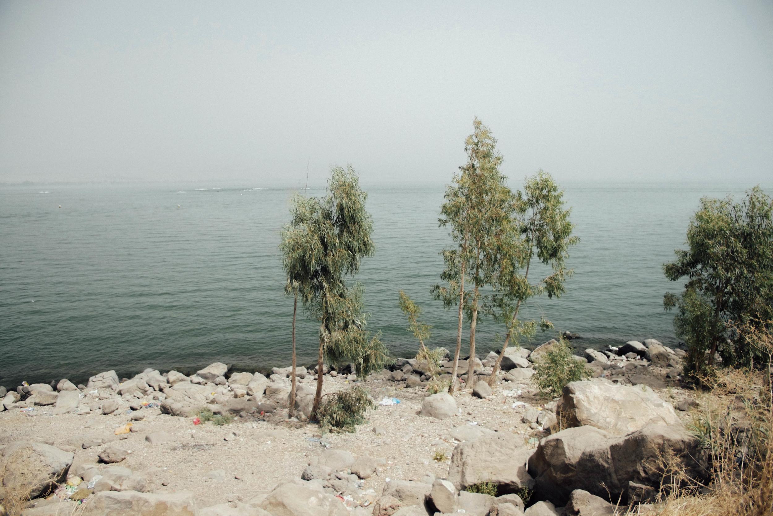 Lake Tiberias (or Sea of Galilee)