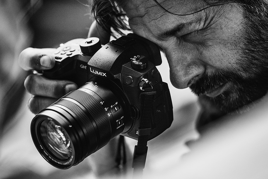 Photographer Daniel Berehulak  (from the official Panasonic GH5 page)