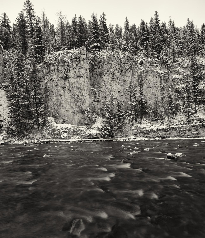 Early Winter. Gallatin River, Montana