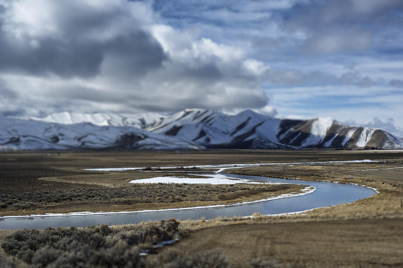 Silver Creek, Idaho. Winter