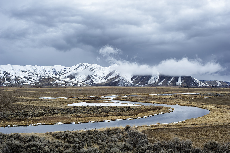 March Storm. Silver Creek, Idaho
