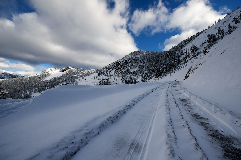 Trail Creek Pass. September.