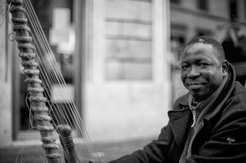 Portrait of a Street Musician II