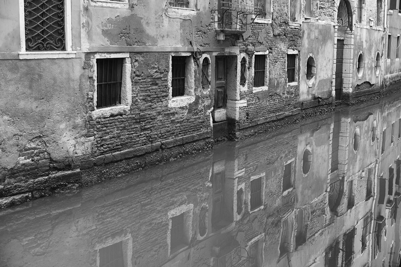 Venice Canal & Reflection