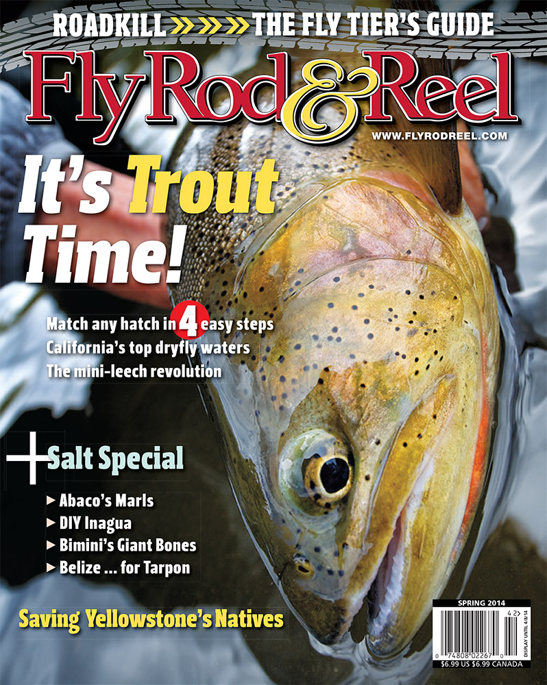 fly rod & reel cover spring 2014