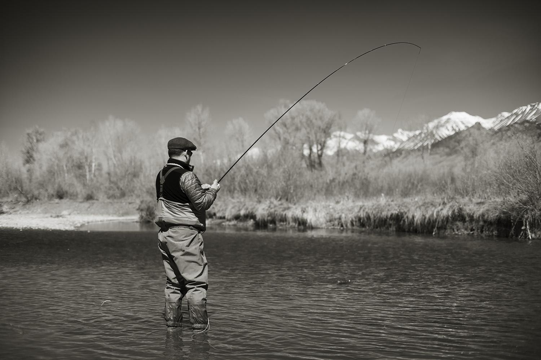 Bent Rod & Lower Big Lost River, Idaho.