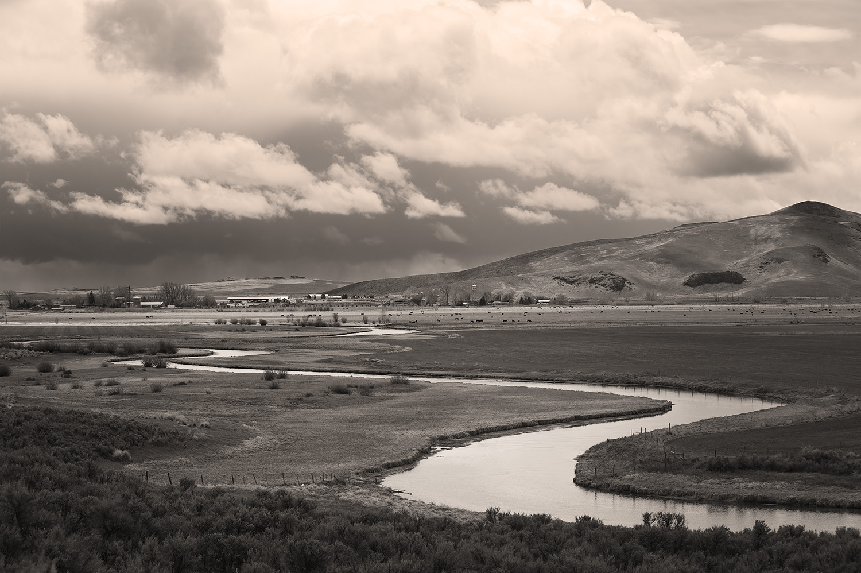 Silver Creek and Picabo, Idaho. Spring. 2014.