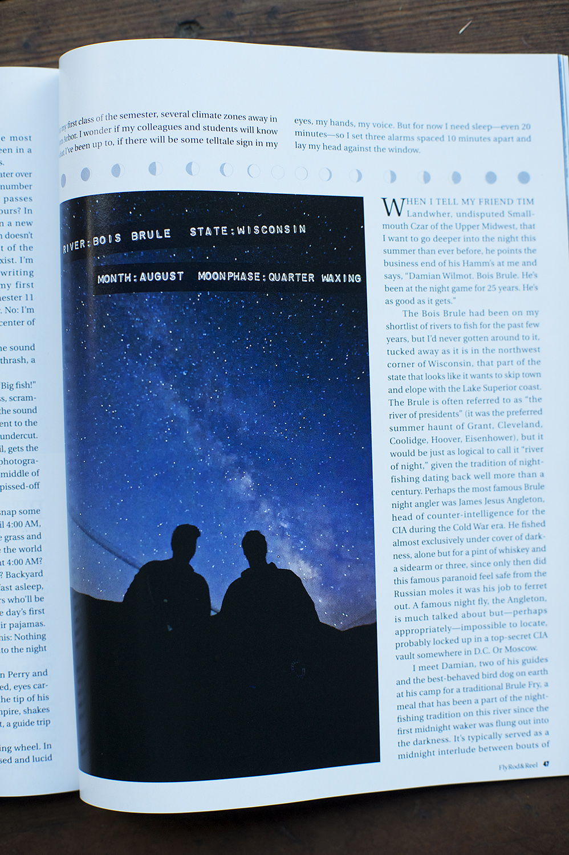 Hunter & Craig Churchill on a clear summer's night.