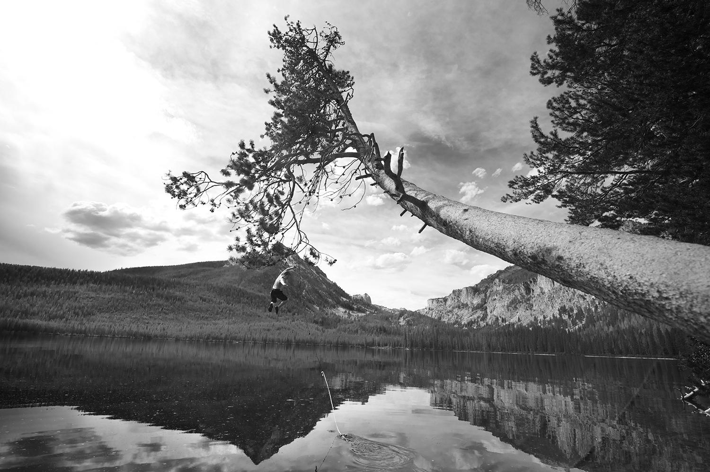Pettit Lake, Idaho. Final day of summer 2014.