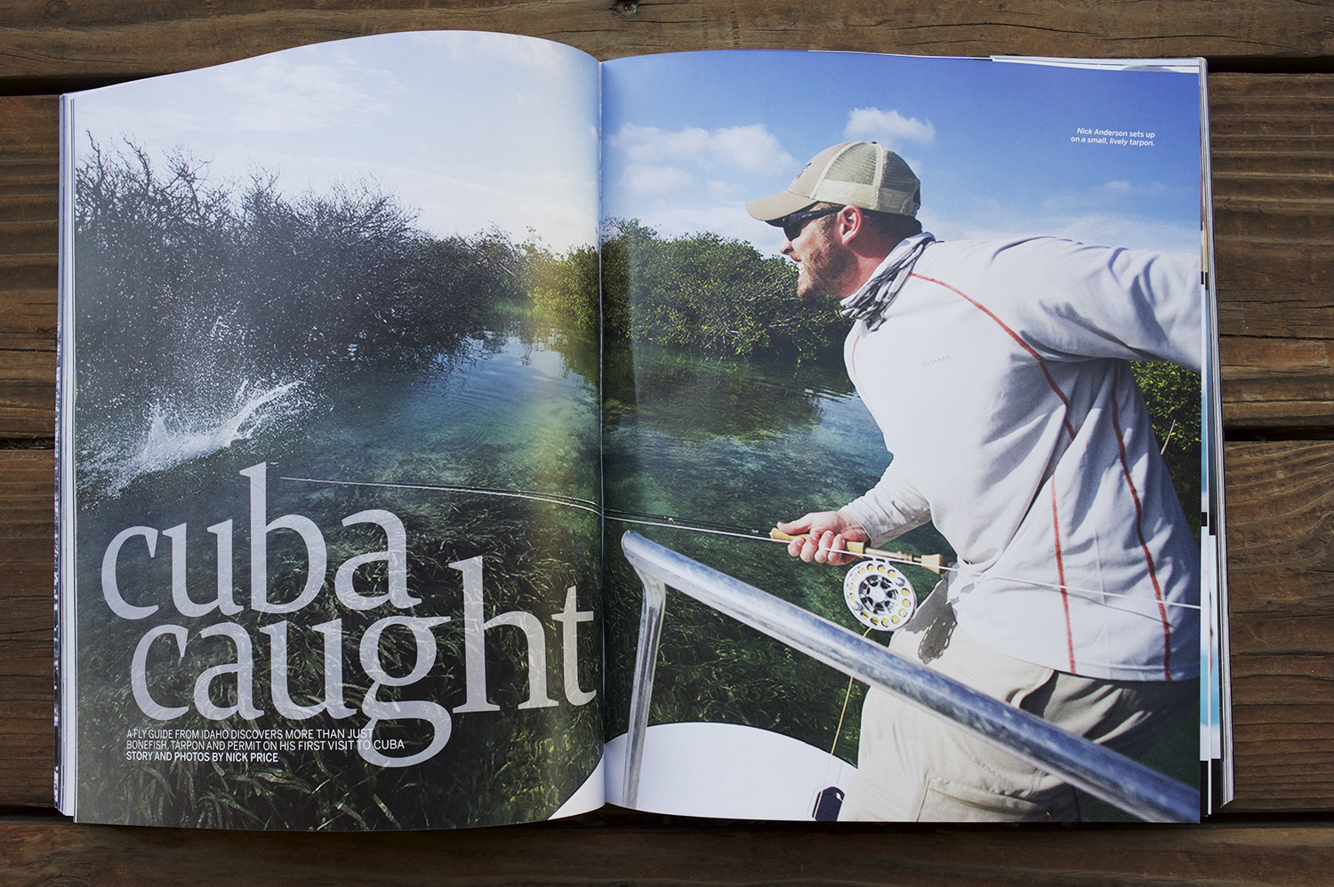 Words & Photos in the spring 2015 issue of Anglers Journal. 8 page feature on Cuba's Jardines de la Reina.