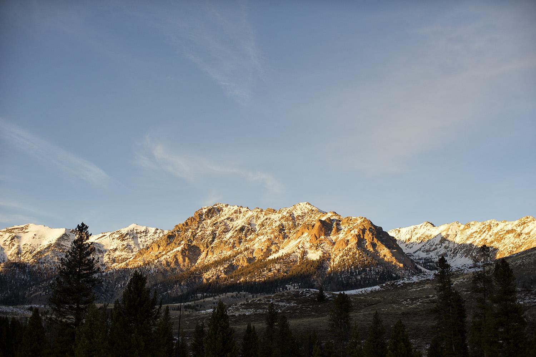 Boulders. Idaho. Late November.