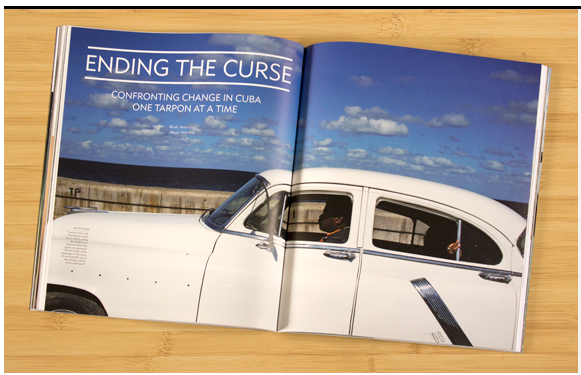 Feature story, photography, in issue 7.4 of The Fly Fish Journal on Cuba. Summer 2016.