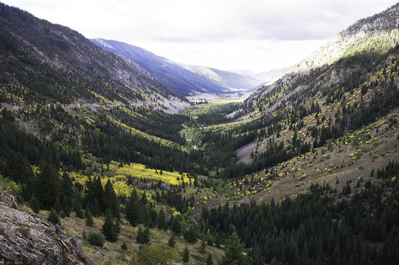 Trail Creek Pass. Fall.