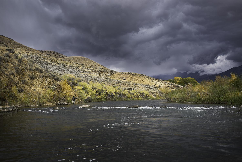 October. Big Lost River.