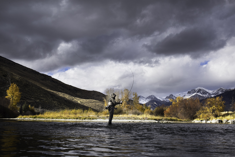 Big Lost River. Idaho.