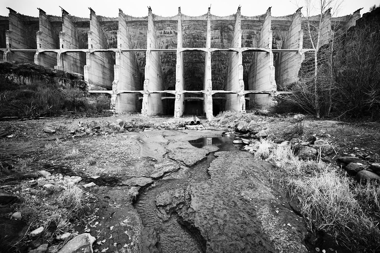 Fish Creek Dam. Idaho.