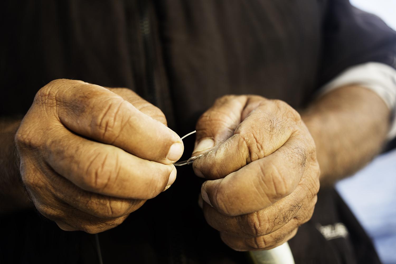 Fisherman Hands