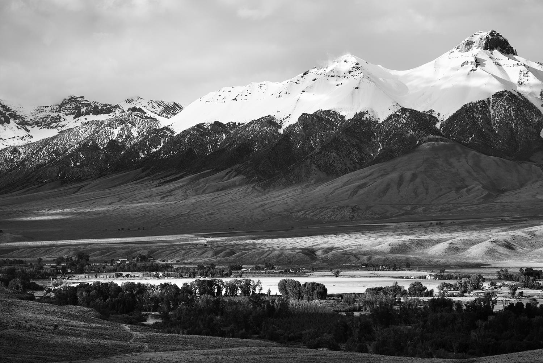 Lost River Range. Mid-September. Idaho.