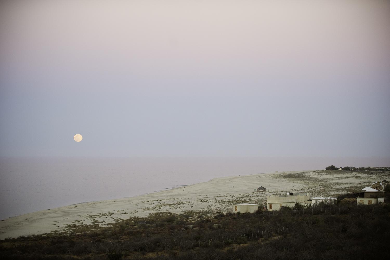 Moonrise. East Cape. Baja, Mexico